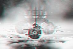Концепция небольшого затруднения времени Гипнотизировать вахту на цепи Стоковые Изображения RF