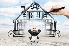Концепция недвижимости и ипотеки стоковая фотография