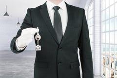 Концепция недвижимости и ипотеки Стоковые Фото