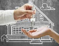 Концепция недвижимости и ипотеки стоковая фотография rf