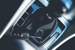 Концепция нового автомобиля покупая Стоковое Изображение RF