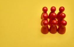 Концепция номера Смогите быть использовано для решения в представлении перечислить 9 до 9 Стоковая Фотография