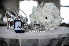 Концепция дня свадьбы Стоковые Изображения