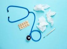 Концепция обрабатывать холодные заболевания стоковое изображение rf