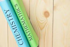 Концепция образования на деревянной предпосылке Стоковая Фотография RF