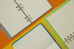 Концепция образования на желтой предпосылке Стоковое фото RF