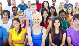 Концепция образования тренировки семинара команды подростка разнообразия Стоковые Изображения