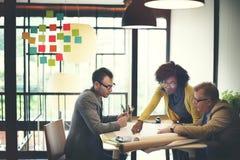 Концепция обсуждения встречи дизайн-проекта архитектора Стоковое Фото
