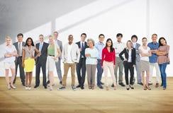 Концепция общественной группы устремленности людей разнообразия стоковая фотография