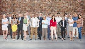 Концепция общественной группы устремленности людей разнообразия стоковые фотографии rf