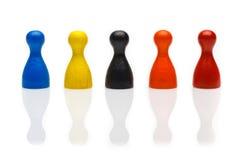 Концепция: объединяйтесь в команду, social, разнообразие, этничность, культура Стоковое Изображение
