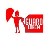 Концепция логотипа предохранителя Стоковая Фотография RF