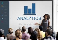 Концепция домашней страницы App финансов аналитика Стоковые Фотографии RF