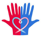 Концепция донорства крови Стоковое Изображение
