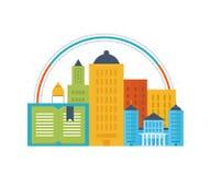 Концепция онлайн образования, курсов подготовки, университета, консультаций Стоковая Фотография RF