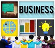 Концепция организации корпоративного предприятия деловой компании Стоковое Изображение RF