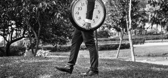 Концепция организации план-графика контроля над временем времени стоковые изображения