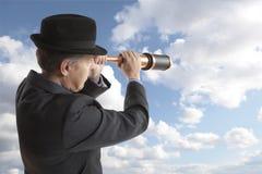 Концепция одного бизнесмена стоковое изображение