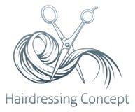 Концепция парикмахера Стоковое Фото
