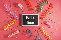 Концепция партии или дня рождения Стоковые Изображения RF