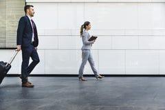 Концепция партнера занятия коммерсанток бизнесмена Стоковые Изображения