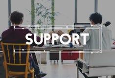 Концепция партнерства соединения сотрудничества корпоративного бизнеса Стоковые Фото