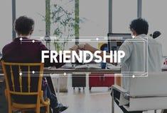 Концепция партнерства соединения сотрудничества корпоративного бизнеса Стоковые Фотографии RF