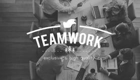 Концепция партнерства сотрудничества единения наличия команды стоковые изображения rf
