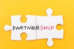 Концепция партнерства Стоковое Изображение