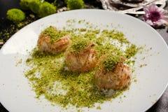 Концепция печенья бахлавы еды турецкая Стоковое Изображение RF