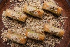 Концепция печенья бахлавы еды турецкая Стоковая Фотография
