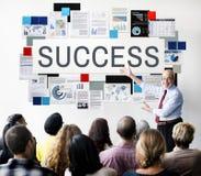 Концепция победы роста достижения успеха превосходная стоковое фото