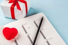 Концепция поздравительной открытки дня ` s валентинки Стоковые Изображения RF