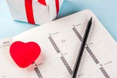 Концепция поздравительной открытки дня ` s валентинки Стоковое Изображение RF