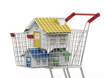 Концепция покупателя недвижимости Стоковое Изображение RF