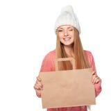 Концепция покупок зимы стоковое изображение
