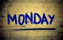 Концепция понедельника Стоковая Фотография RF