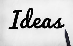Концепция полета плана дизайна зрения идеи идей объективная стоковые фото