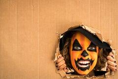 Концепция праздника осени тыквы хеллоуина Стоковое Изображение RF
