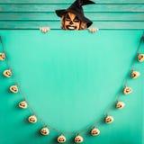 Концепция праздника осени тыквы хеллоуина Стоковое Изображение