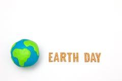 Концепция праздника дня земли Стоковое Изображение