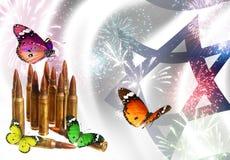 Концепция праздников израильских сил обороны и Дня независимости Стоковая Фотография