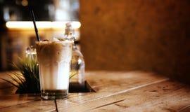 Концепция предпосылки кофе с космосом экземпляра Стоковые Фото