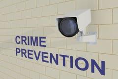 Концепция предупреждения преступности бесплатная иллюстрация