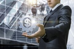 Концепция прибыльные инвестирования стоковые фотографии rf