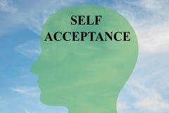 Концепция принятия собственной личности Стоковое Фото