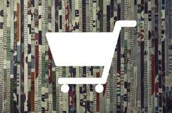 Концепция приобретения, маркетинга дела, рекламы стоковые изображения
