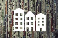 Концепция приобретения, ренты, продажи недвижимости стоковые изображения
