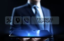 Концепция проверки качества гарантии обслуживания клиента службы технической поддержки иллюстрация штока