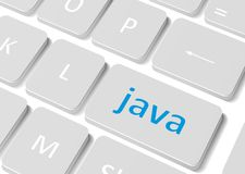 Концепция программного обеспечения Клавиатура компьютера кнопки Стоковое Изображение